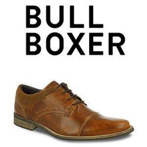 Bullboxer Davide Sz 12 Distressed Cap Toe Oxfords